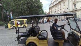 Grüße von Krakau stock video