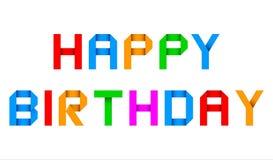 Grüßender alles- Gute zum Geburtstagorigami vektor abbildung