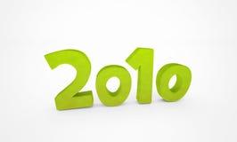 Grün 2010 Stockfoto