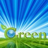 Grün Lizenzfreie Stockfotos