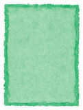 Grün beflecktes Papier Lizenzfreie Stockbilder