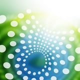 Grün-blauer abstrakter Hintergrund Lizenzfreies Stockbild