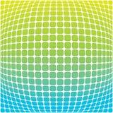 Grün-blauer Hintergrund Vektor Abbildung
