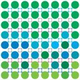 Grün-blauer Hintergrund Lizenzfreie Abbildung