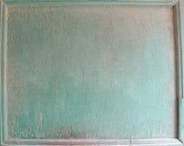 Grün gemalter Holzoberflächehintergrund stockfoto