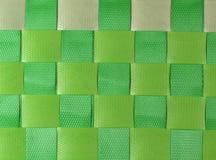 Grün gesponnener Korb Lizenzfreies Stockbild