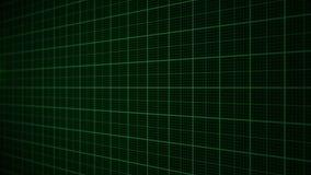 Grün-Herzmonitor der Animation 3D eines Mannes in der Liebe stock video