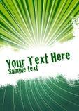 Grün-Impuls-Hintergrund Stockbilder