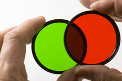 Grün oder Rot Lizenzfreie Stockfotografie