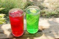 Getränke für Sommer Stockfoto
