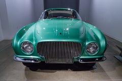 Grün-Plymouth-Forscher 1954 durch Ghia Stockfotos