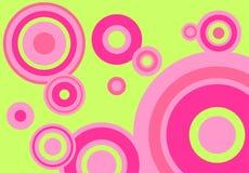 Grün-rosafarbener Hintergrund Stockfoto