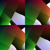 Grün-roter nahtloser abstrakter Hintergrund. Stockbild