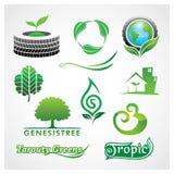 Grün-Symbol Lizenzfreie Stockbilder