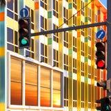 Grün und Rot Lizenzfreies Stockfoto