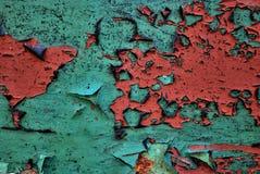 Grün und Rot Stockfoto
