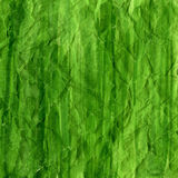 Grün zerknitterter Aquarellhintergrund Stockbild