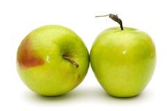 Grüne Äpfel. Lizenzfreies Stockbild