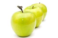 Grüne Äpfel. Lizenzfreie Stockbilder