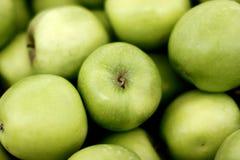Grüne Äpfel Stockfotos