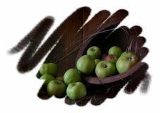 Grüne Äpfel Stockbilder