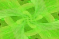 Grüne Abstraktion Stockfotografie
