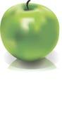 grüne Apfelmasche Stockfotografie