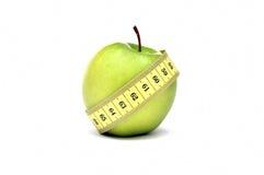 Grüne Apple-Diät Stockfotografie