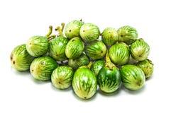 Grüne Aubergine Lizenzfreie Stockbilder