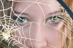 Grüne Augen Lizenzfreie Stockfotos