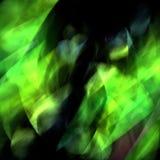 Grüne Aurora Stock Abbildung