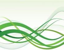 Grüne Auslegung Stockbild