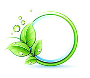 Grüne Auslegung Stockfotografie