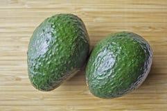 Grüne Avocados Stockfotografie