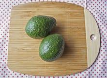 Grüne Avocados Lizenzfreies Stockbild