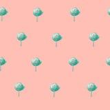 Grüne Bäume des Musters Stockbilder