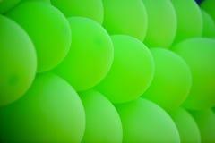 Grüne Ballone Stockfoto