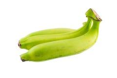 Grüne Banane Stockbild
