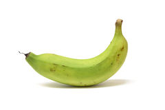 Grüne Banane Lizenzfreie Stockfotografie