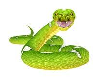 Grüne Baum-Pythonschlange stock abbildung