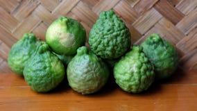 Grüne Bergamotte Lizenzfreies Stockbild