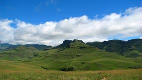 Grüne Berge Stockfotos