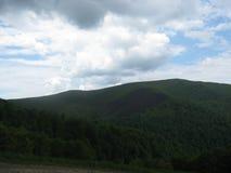 Grüne Berge Stockfoto