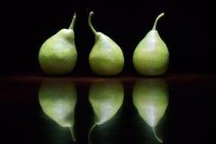 Grüne Birnen Stockfotos