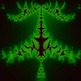 grüne Blattart Druckdesign-Farbhintergrund stock abbildung