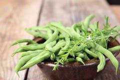Grüne Bohnen stockfotos