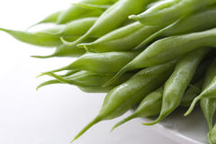 Grüne Bohnen 2 Lizenzfreie Stockfotografie