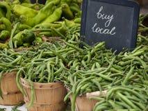 Grüne Bohnen Stockbild