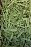 Grüne Bohnen oder Stangenbohnen Lizenzfreie Stockfotos