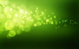 Grüne bokeh Tapete Stockbild